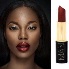 Iman cosmetics makeup artist