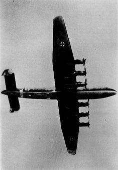 Junkers Ju-390  Prototype German heavy bomber and long-range reconnaissance aircraft Junkers Ju-390