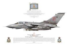 """Tornado GR4, XV(R) Squadron, RAF Lossiemouth """"MacRobert's Reply"""""""