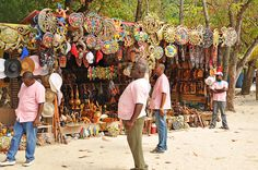 The Artisan Marketplace in Labadee, Haiti