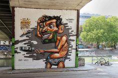 Third update of urban graffiti art for September 2013 // See more street art online from urban artist Mr Pilgrim among other of the world's graffiti artists