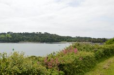 Looking toward Mount Edgcumbe from Devils Point - Plymouth