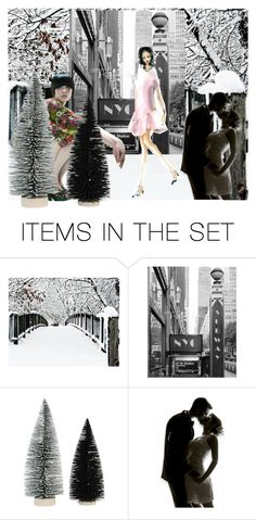 """""""City Sidewalks"""" by neesyrn ❤ liked on Polyvore featuring art"""