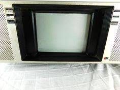 Vintage JVC Portable Boom Box Color TV Radio Tape CX-701us Made in Japan | eBay