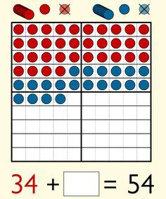 Digitale Visualisierungen - 100 Punkte Tafel - Zehnerfeld - Zwanzigerfeld - 20 er Zahlenstrahl