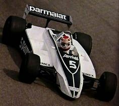 1981 world champion Nelson Piquet in a Brabham Ford