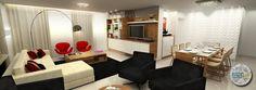 Living Room - Sketchup + Photoshop • Studio Urbano Arquitetura •