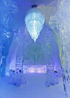 Ice Hotel, 'Hôtel de Glace', Quebec, Canada