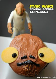 admiral ackbar cupcakes by justjenn, via Flickr