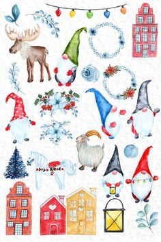 Swedish Christmas, Christmas Gnome, Scandinavian Christmas, Vintage Christmas, Christmas Crafts, Christmas Mantles, Victorian Christmas, Christmas Christmas, Christmas Ornaments