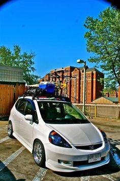 Bike rack: Roof?Hitch?Thule?Yakima - Page 2 - Unofficial Honda FIT Forums