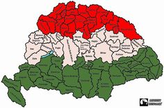 Hungary - Trianin elott - before was the Hungarian land with many State today only 19 State left just tragedy for Hungarians