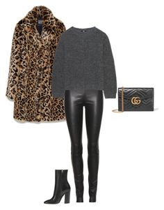"""""""Leo Style"""" by sina5439 on Polyvore featuring Mode, Gucci, The Row und Uniqlo"""
