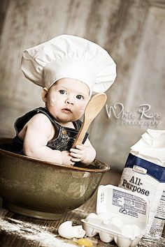 61504e8d4 94 Best Chef a Baby Photo Shoot Ideas images in 2019 | Children ...