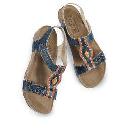 Artisan Leather Sandals - Women's Clothing, Unique Boutique Styles & Classic Wardrobe Essentials
