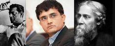 #WestBengal, the eastern state of India has been birth place of few of the great Indians. Bengali's have made their name in the field of #Politics, #Movies  #SouravGanguly #NobelPrize #Legends