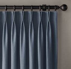 Custom Basket Weave Linen French-Pleat DraperySelect Colors On Sale Dining Room Curtains, Home Curtains, Modern Curtains, Curtains With Blinds, Window Blinds, Cheap Curtains, Pleated Curtains, Pinch Pleat Curtains, Curtain Styles