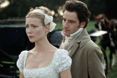 Gwyneth Paltrow (Emma Woodhouse) & Jeremy Northam (Mr. Knightley) - Emma directed by Douglas McGrath #janeausten