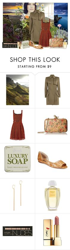 """Elspeth Dunn - Letters from Skye"" by romaosorno ❤ liked on Polyvore featuring Alexander Wang, LIST, Christopher Kane, La Regale, Harrods, INC International Concepts, Kristen Elspeth, Creed and Yves Saint Laurent"