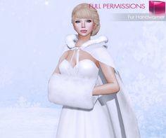 MI Mesh Fur Handwarmer