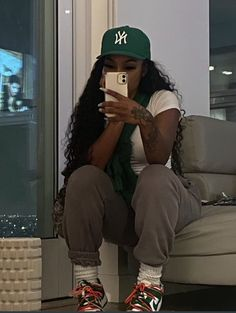 Swag Outfits For Girls, Cute Swag Outfits, Chill Outfits, Trendy Outfits, Teenage Girl Outfits, Teenager Outfits, Simple Outfits, Black Girl Fashion, Tomboy Fashion