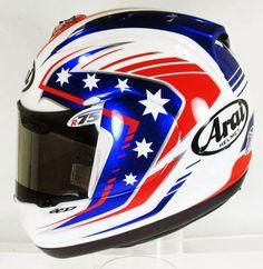 Arai RX-GP B.Parkes 2014 by OCD Arai Helmets, Helmet Paint, Custom Helmets, Racing Helmets, Helmet Design, Ocd, Custom Paint, Motorbikes, Lovers