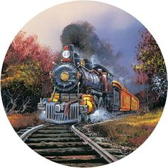 These Steam Train jigsaw puzzles are really popular with the locomotive enthusiasts. So if you're after some nostalgia or you know of someone who loves trains anyone of these jigsaw puzzles for adults would be ideal.