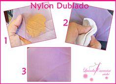 Nylon Dublado (Material Querido) ~ LUANDA CARRARINI ATELIÊ