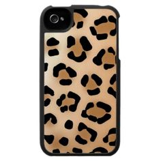 Leopard Print - iPhone 4 Case @Kayla Ciruolo