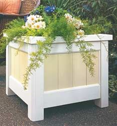 DIY wooden planter box