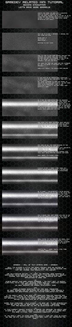 Metal barrel texture tutorial by Pirosan.deviantart.com on @deviantART