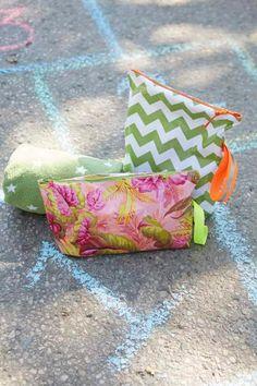DIY wet bag for your damp bathing suit