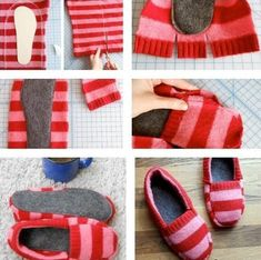 Good way to recycle old sweaters