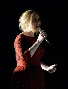 Adele's BRIT Awards 2016 Performance Video - WATCH NOW!: Photo Adele takes over the stage with her amazing vocals at the 2016 BRIT Awards held at the Arena on Wednesday (February in London, England. Adele Grammys, Adele 25, Adele Live, Grammy Awards 2016, Diamante Rosa Steven Universe, Adele Music, Adele Photos, Adele Adkins, Let Your Hair Down