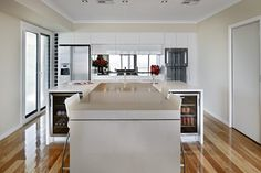The Maker are industry leaders in the design and manufacture of modern kitchens in Perth. View our modern style kitchen designs for inspiration on your next kitchen design. Modern Kitchens, Luxury Kitchens, Beautiful Kitchens, Kitchen Styling, Modern Contemporary, Kitchen Design, Table, Fashion Design, Furniture