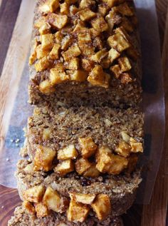 A hearty, moist and chewy raw vegan cinnamon apple bread; made from a base of oats, walnuts, flax seed, and prunes. Let me just say this, you need this bread in your life, it's so…