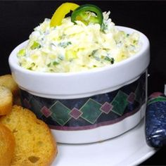 Festive Cheese Dip 'Slaw' Allrecipes.com