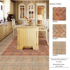 Promotional Ceramic Porcelain Kitchen Floor with Anti Skid Designhtml