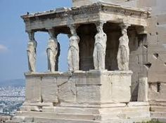 The Parthenon on the Acropolis of Athens, with decorated support columns. Athens Acropolis, Parthenon, Athens Greece, Greek History, Ancient History, Ancient Ruins, Ancient Greece, Greece Wallpaper, Classical Greece