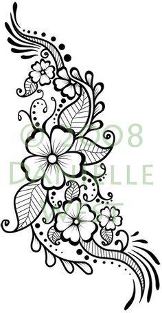 42 new ideas tattoo foot henna mehndi designs Mehndi Designs, Henna Tattoo Designs, Flower Tattoo Designs, Flower Tattoos, Vine Tattoos, Henna Foot Designs, Henna Designs On Paper, Paisley Tattoo Design, Small Tattoos