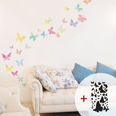 Decowall is a UK based company offering a huge range of products for decorating walls and furniture such as removable wall stickers and wall decals. Wall Decals Uk, Wall Stickers Uk, Butterfly Wall Decals, Nursery Wall Stickers, Removable Wall Decals, Wall Murals, Vinyl Decals, Decoration Stickers, Cribs