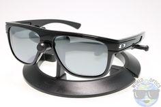 Oakley Breadbox Sunglasses OO9199-03 Polished Black w/ Black Iridium Polarized