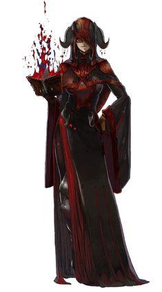 Ophilia Rusev (Second Life: Dark Witch Bathory) Fantasy Concept Art, Fantasy Armor, Fantasy Character Design, Dark Fantasy Art, Character Creation, Character Design Inspiration, Character Concept, Character Art, Fantasy Magician