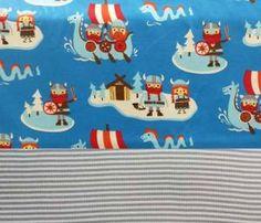 Set Jersey Wikinger blau+Bündchen