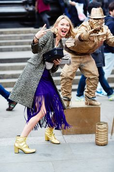 Pandora Sykes #LFW #StreetStyle #FashionWeek photos by Candice Lake