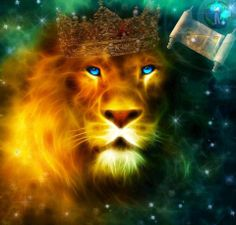 King Of Kings, the Lion of Judah.  Jesus came the first time as a humble servant.  When He comes again, it will be as a conquering King!