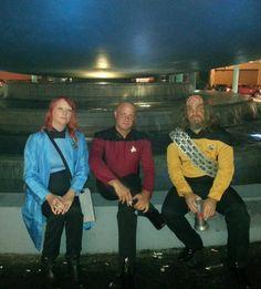 DragonCon 2013 - Star Trek TNG - Hollie Yahola - Loki - Jeff Lester