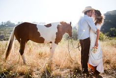 rustic horse themed wedding