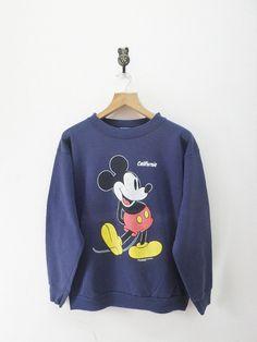 Vintage Mickey Mouse California Disney by RetroFlexClothing