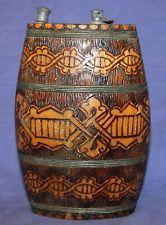 Bulgaria pyrography | ... Decorative Pyrography Design Wooden Wine/Water Flask Bulgarian Folk
